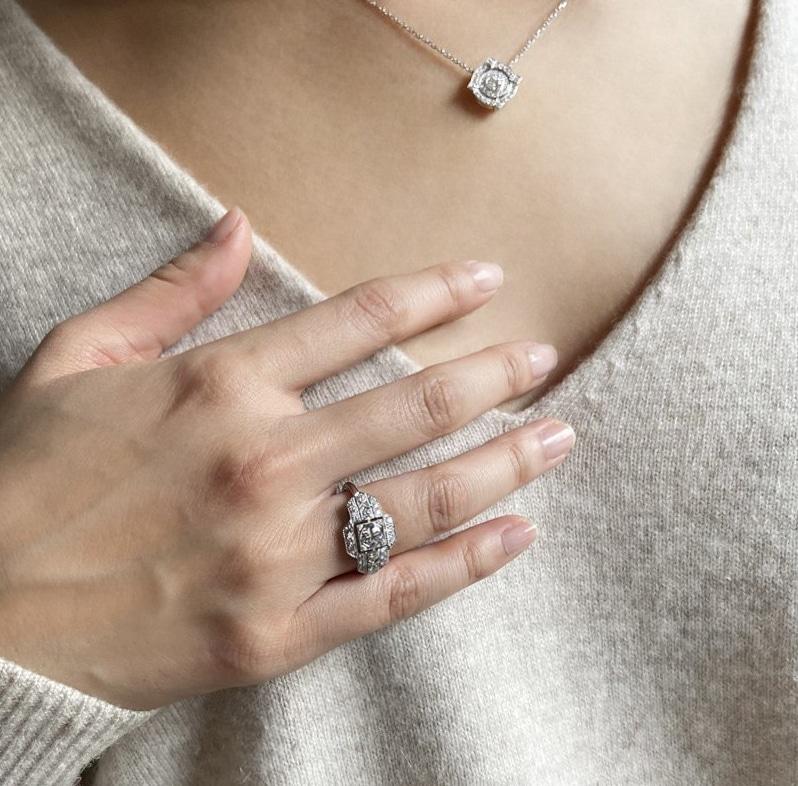 bague charlestone sohan art deco - Habillez vos doigts de luxe et de grâce avec une bague tendance art déco !