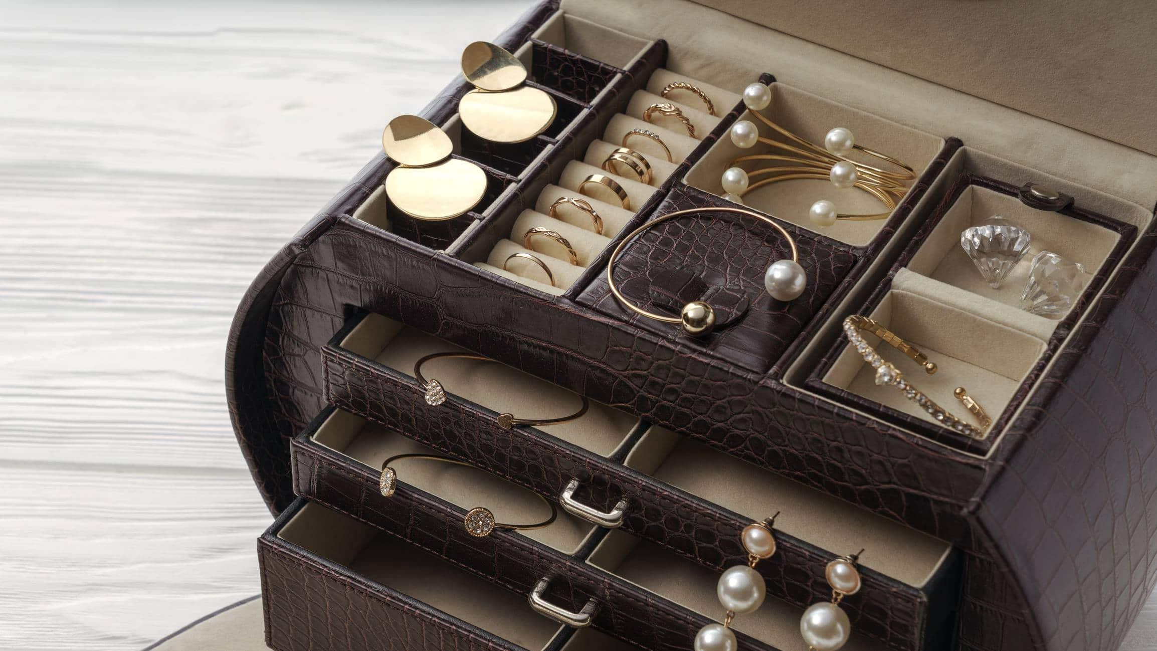 prendre boites - Les boîtes à bijoux en cuir pour prendre soin de ses bijoux