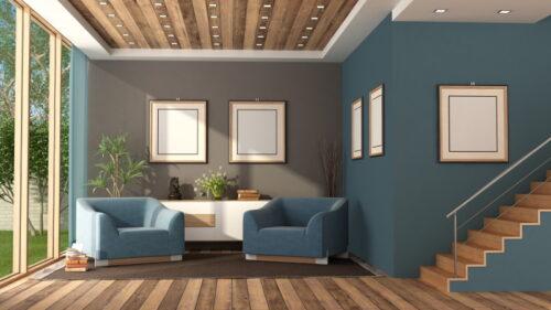 eclairage escalier moderne 500x281 - Nos astuces déco pour un éclairage d'escalier moderne et design