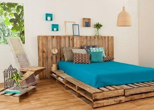 lit palette 602f8b6dd88cf - Idées inspiration de chambre à coucher en palette de bois à essayer!