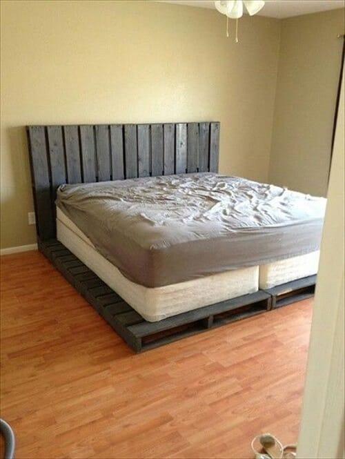 lit palette 602f8b6ea0dcc - Idées inspiration de chambre à coucher en palette de bois à essayer!