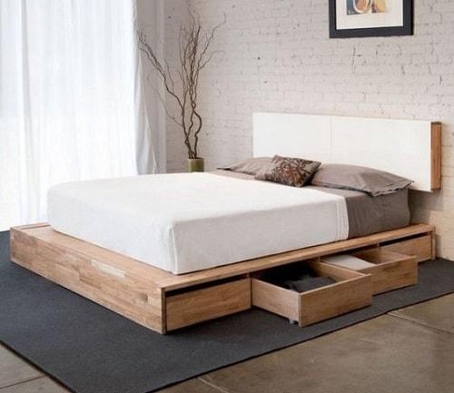 lit palette 602f8b6fc60a5 - Idées inspiration de chambre à coucher en palette de bois à essayer!