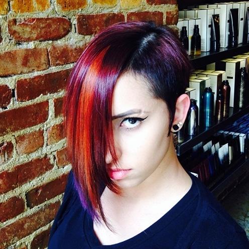 coupe asymetrique 604c815fccfa5 - 40 coupes de cheveux asymétriques pour les femmes qui attirent l'attention