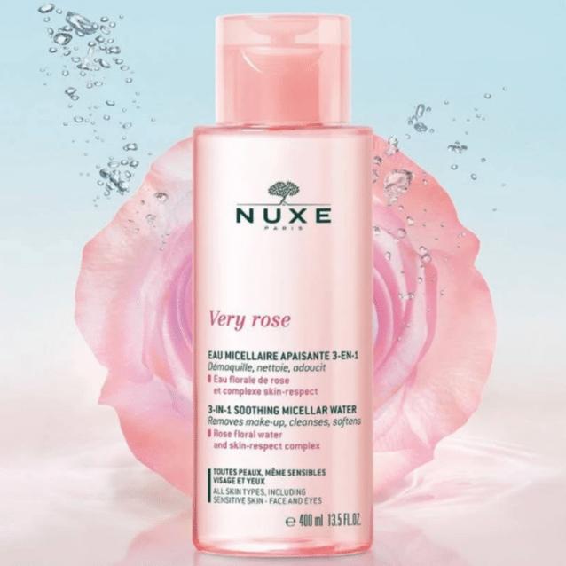 eau very rose - La marque Nuxe en 4 produits de beauté incontournables