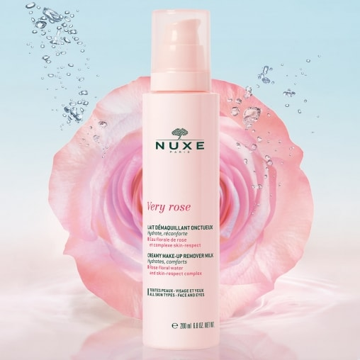 very rose lait - La marque Nuxe en 4 produits de beauté incontournables