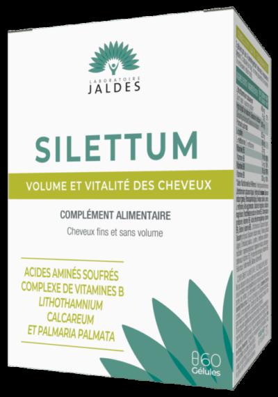 SILETTUM GELULES G min e1622410727377 - Beauté et vitalité des cheveux : pensez au complément alimentaire au silicium !
