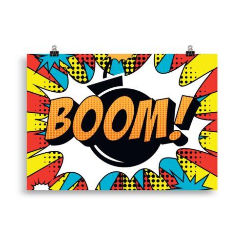affiche vintage cartoon boom la boutique du vintage 21158659129504 1024x1024 e1622062194375 - J'ai testé la boutique vintage : mon avis et mon expérience