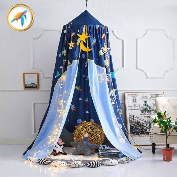 ciel lit etoile piscine tortuga e1620634438619 - Installer un ciel de lit pour le confort et le bien-être de Bébé