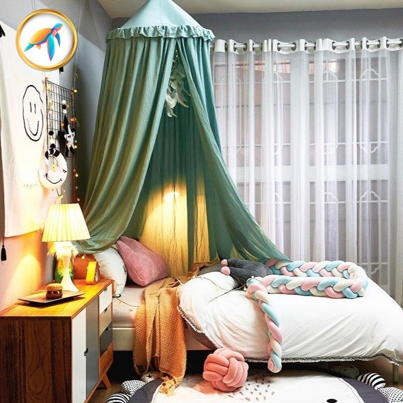 cieldelitvertCovea piscine tortuga - Installer un ciel de lit pour le confort et le bien-être de Bébé