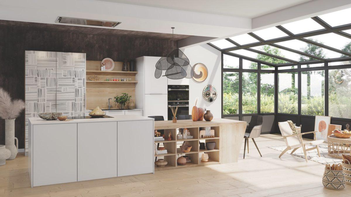 cuisine equipee contemporaine schmidt 1200x675 - La cuisine idéale ? Une cuisine équipée bien-sûr !