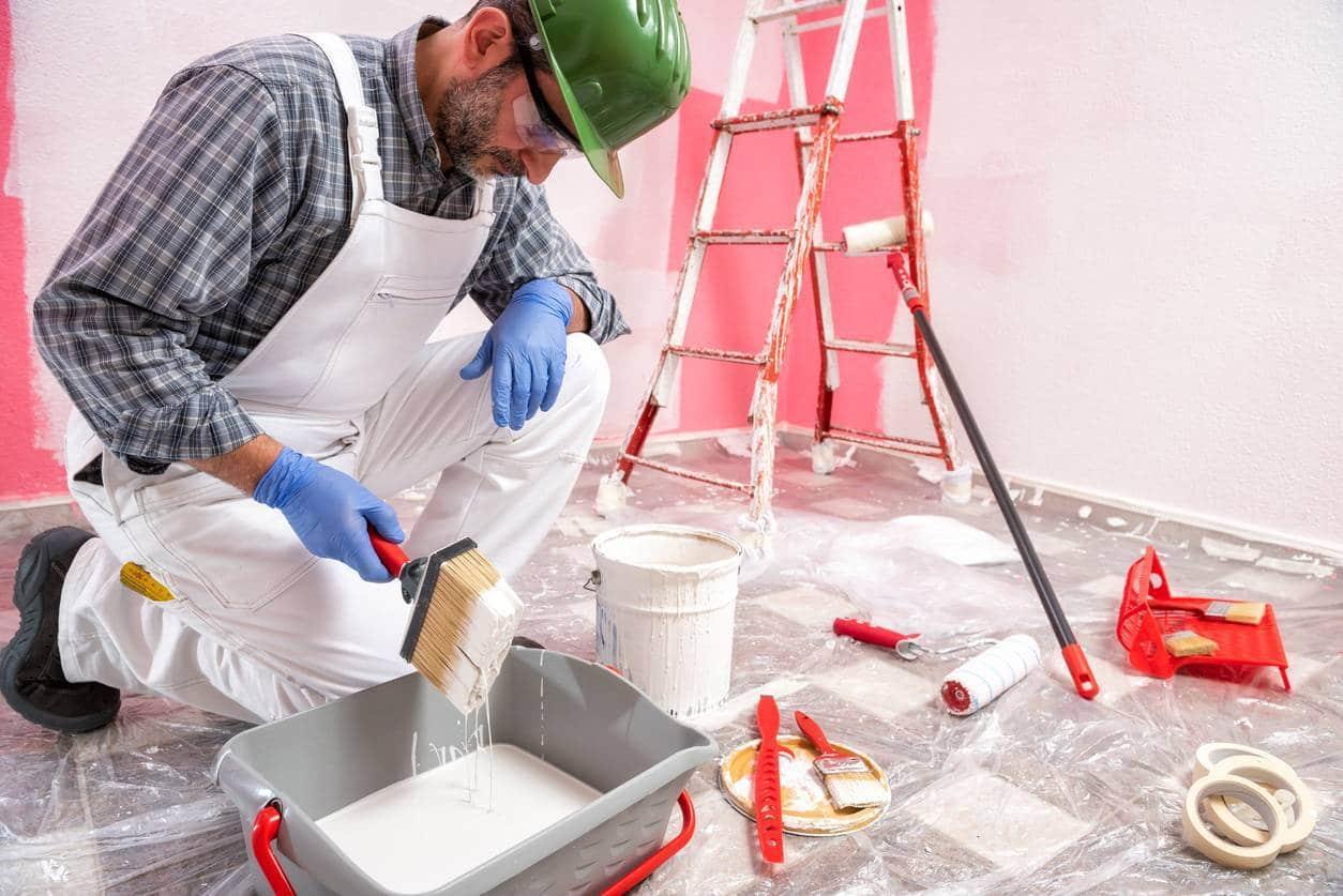 preparer peinture - Comment préparer sa maison avant des travaux de peinture ?