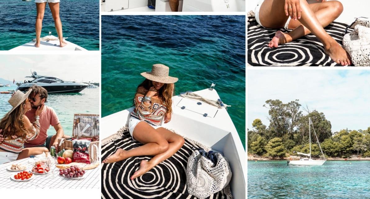 Une journee en bateau - Louer un bateau sans permis pour une après-midi entre amies ou en famille