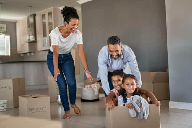 demenagement famille 650x433 - Gérer le déménagement de toute la famille