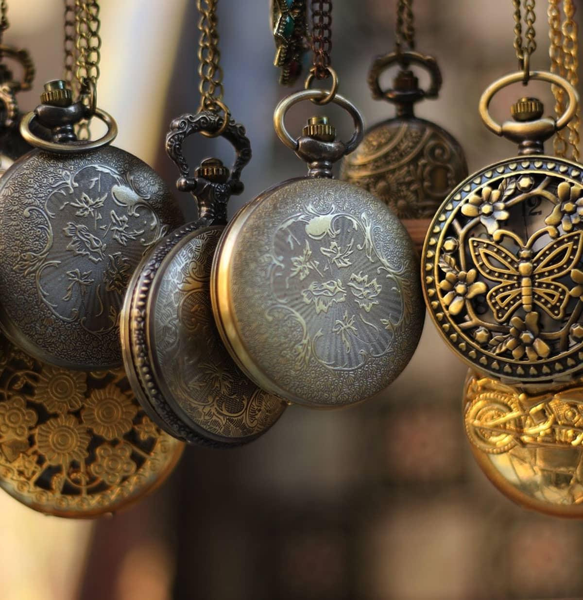 garde temps - La montre à gousset : pour un look toujours plus vintage !