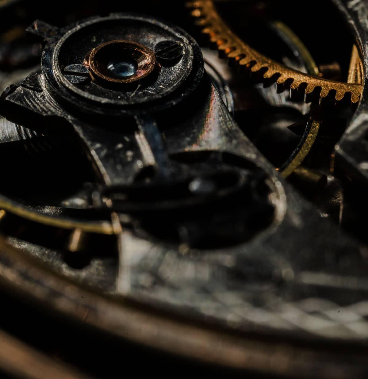 montre gousset mouvmeent automatique - La montre à gousset : pour un look toujours plus vintage !
