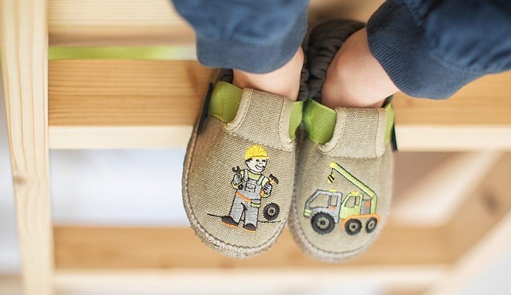 chaussons enfant - Des chaussons enfant pour leur bien-être, c'est le pied !